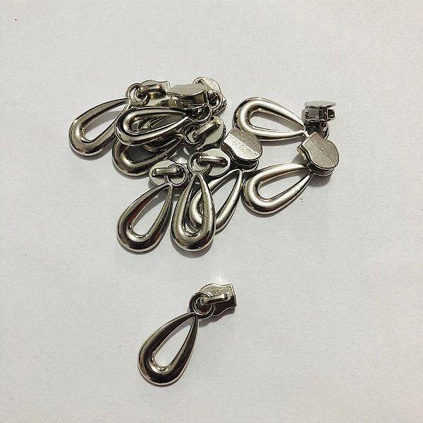 Cursor 3mm Gota Prata (5 unid)
