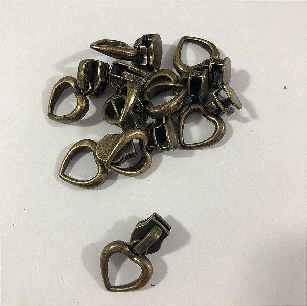 Cursor 5mm Coração Ouro Velho (5 unid)