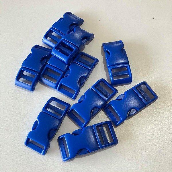 Fecho PVC 15mm (10 unidades) Azul