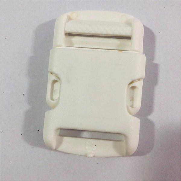 Fecho PVC 3cm Branco (10 unidades)