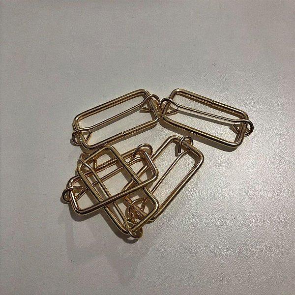 Regulador 4cm Dourado Cataforético (pct 5)