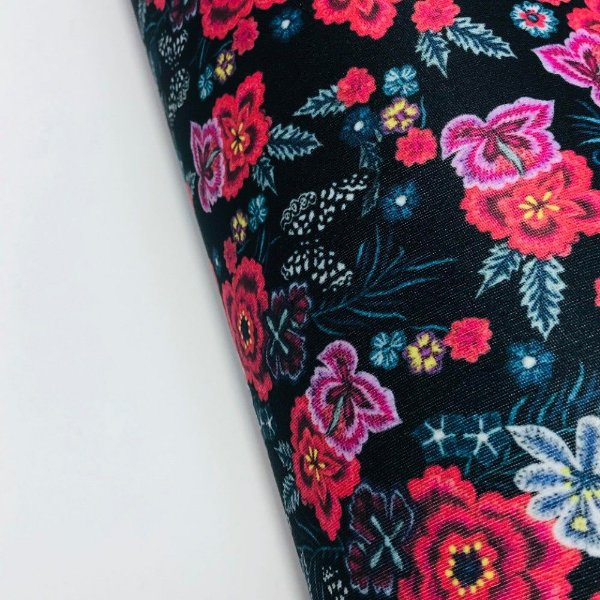 Riviera 2mm Floral Jeans