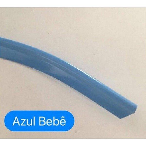 Vivo de Plástico 11mm Azul Bebê
