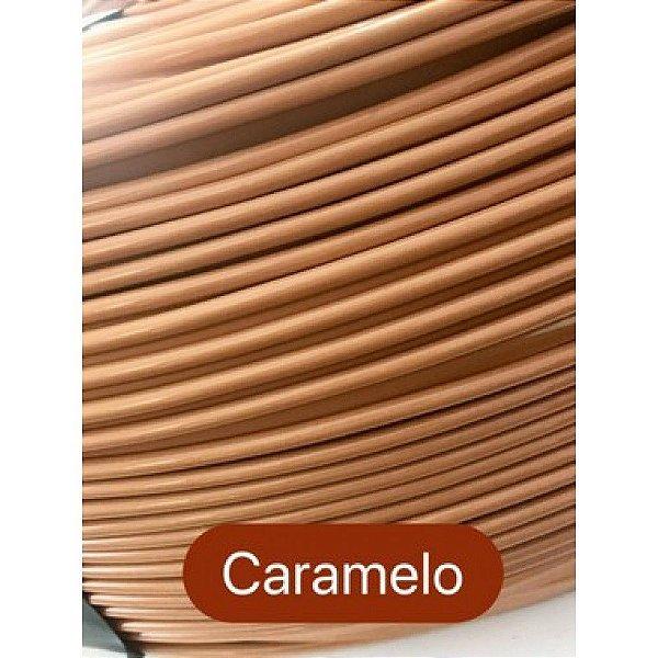 Vivo de Plástico 11mm Caramelo