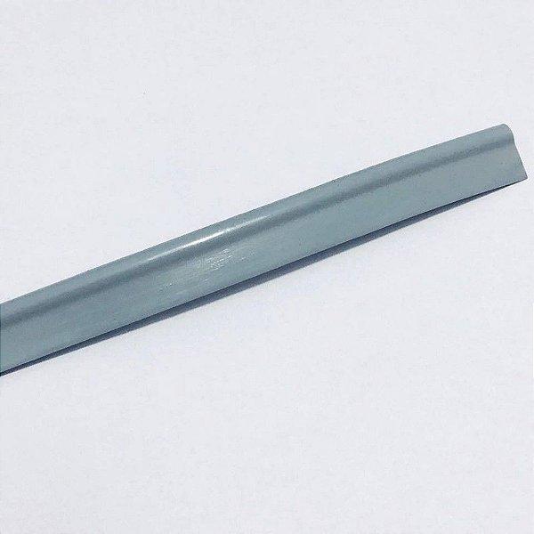 Vivo de Plástico 11mm Cinza Claro
