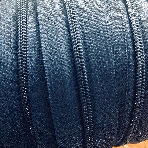 Zíper 3mm Azul Marinho Escuro