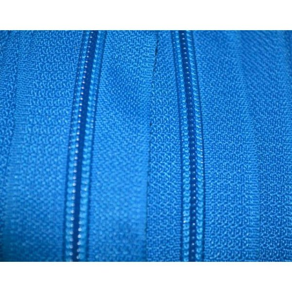 Zíper 3mm Azul Turquesa