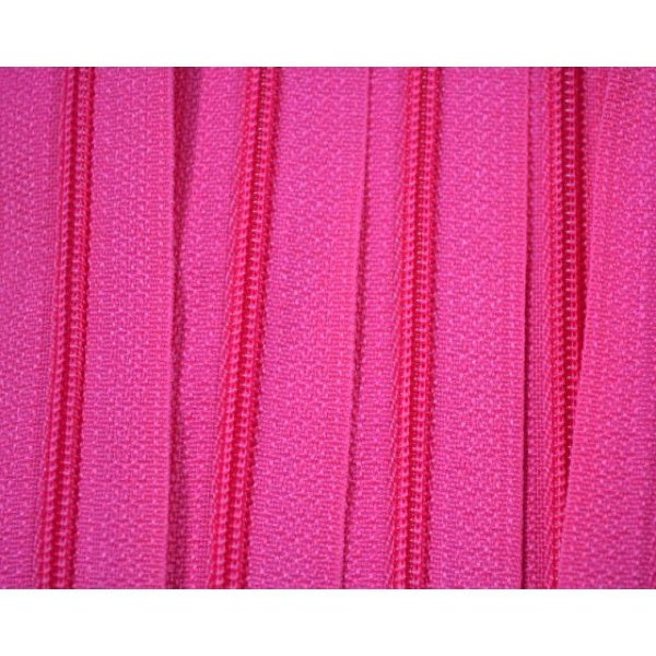 Zíper 3mm Pink