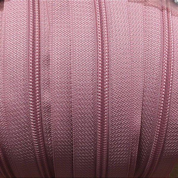 Zíper 3mm Rosê