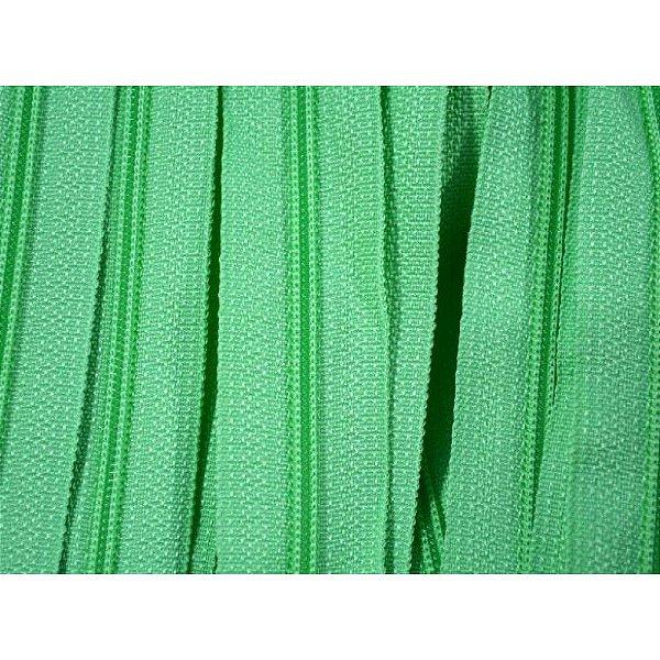 Zíper 3mm Verde Claro