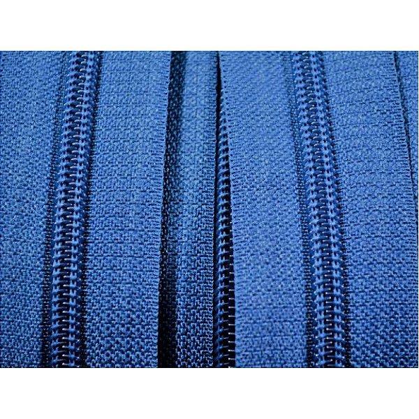Zíper 5mm Azul Marinho