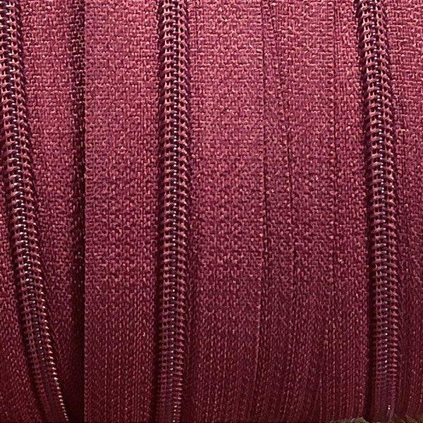 Zíper 5mm Vinho
