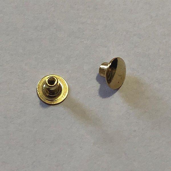 Rebite n 01 Dourado (pct 50)