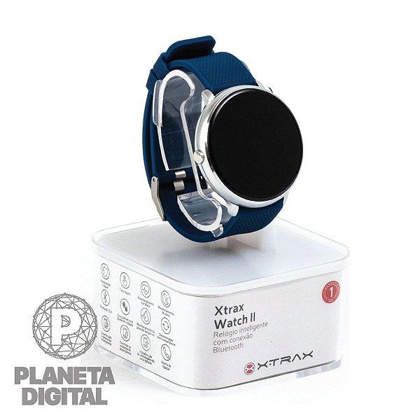 Relógio Xtrax Smartwatch II Tela touch Monitoramento cardíaco Resistente à água IP67 - XTRAX