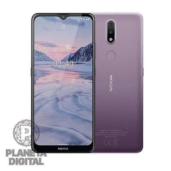 "Smartphone Nokia 2.4 TA-1274 Tela 6.5"" 64GB RAM 3GB Câmera 13MP + Frontal 5MP - NOKIA"