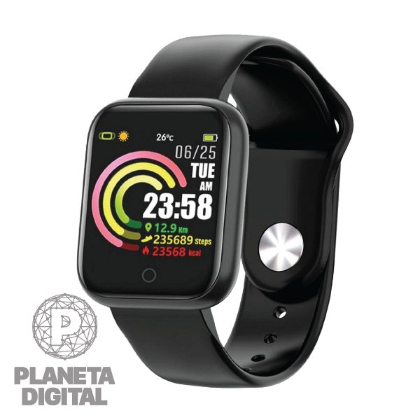 Relógio Ace PS300 Tela touch Bluetooth Monitoramento cardíaco Resistente à água IP67 - OEX
