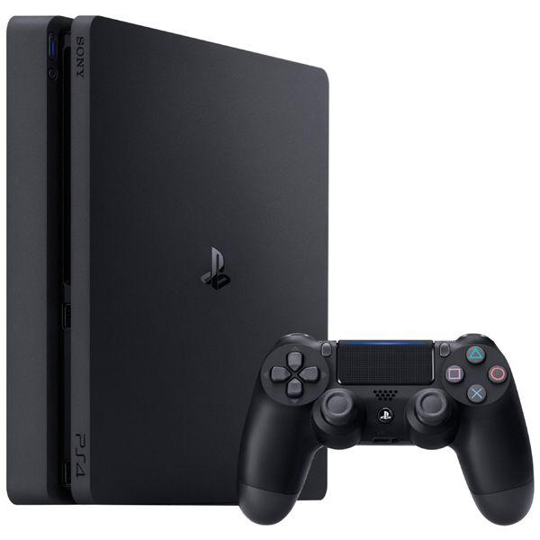 Console Playstation 4 500Gb Slim Com Controle Ps4 Sem Fio