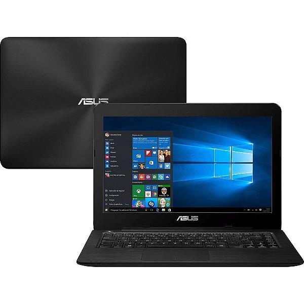 "Notebook Asus Intel Core i5 4GB 1TB Windows 10 Home Tela 14"" Série Z Z450L"