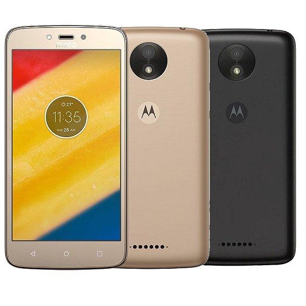 Smartphone Motorola Moto C Plus 8GB, Tela 5'', Dual Chip, Android 7.0, Câmera 8MP