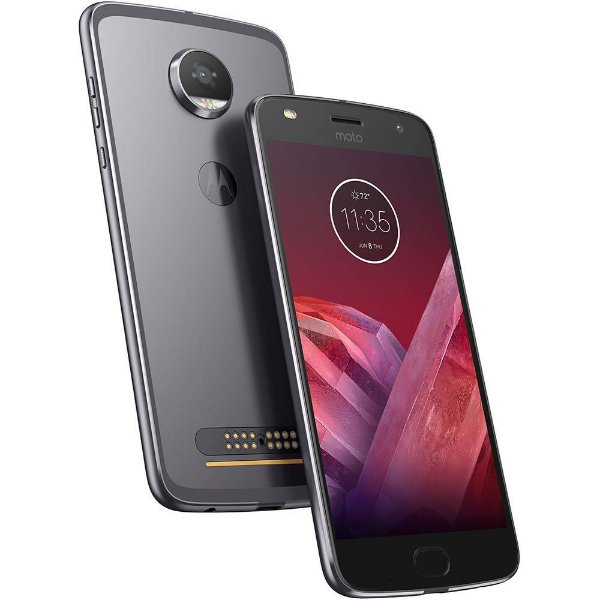 "Smartphone Motorola Moto Z2 Play Tela 5.5"" Android 7.1, 64GB, Câmera 12MP"