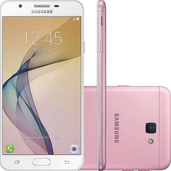 "Smartphone Samsung Galaxy J7 Prime 32GB, Tela 5.5"", Dual Chip, Câmera 13MP, Leitor Biométrico, Android 6.0"