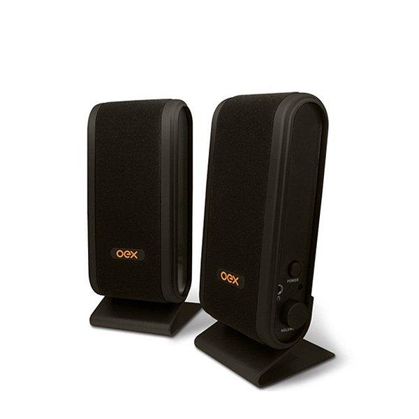 Speaker SK101 Slim Preto OEX