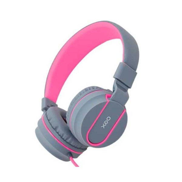Headset Neon Rosa HS106 OEX