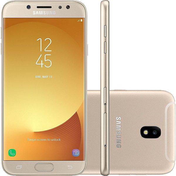 "Smartphone Samsung Galaxy J7 Pro Android 7.0 Tela 5.5"" Octa-Core 64GB 4G Wi-Fi Câmera 13MP"