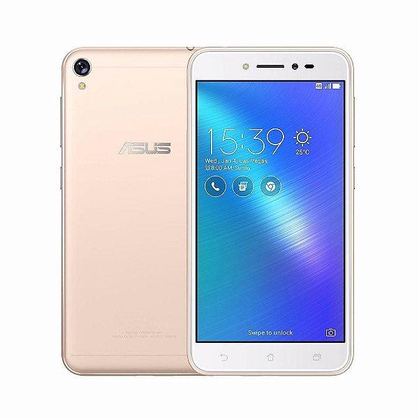 """Smartphone Asus Zenfone Live ZB501KL 16GB, Tela 5.0"""", Dual Chip, Câmera 13MP, 4G, TV Digital, Android 6.0, Processador Quad Core e 2GB de RAM"""
