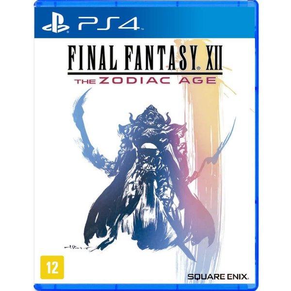 Jogo Ps4 Final Fantasy XII The Zodiac Age