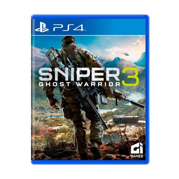 Jogo Ps4 Sniper 3 Ghost Warrior