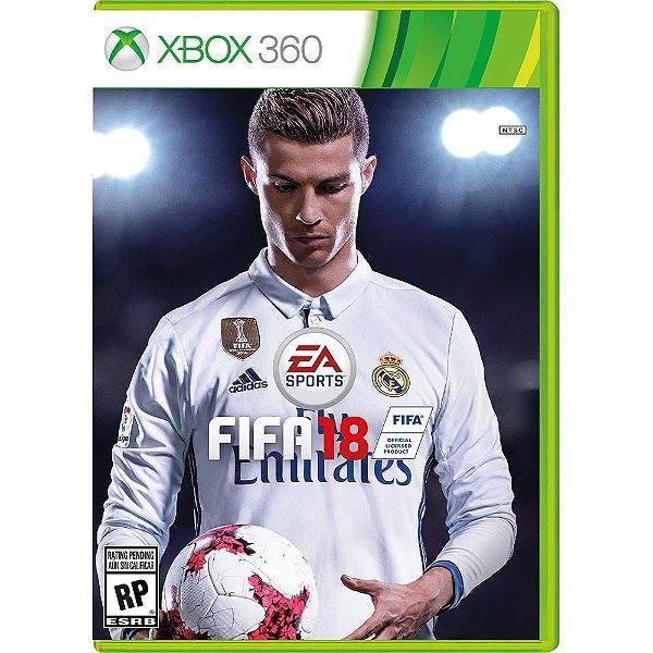 Jogo FIFA 18 Xbox 360