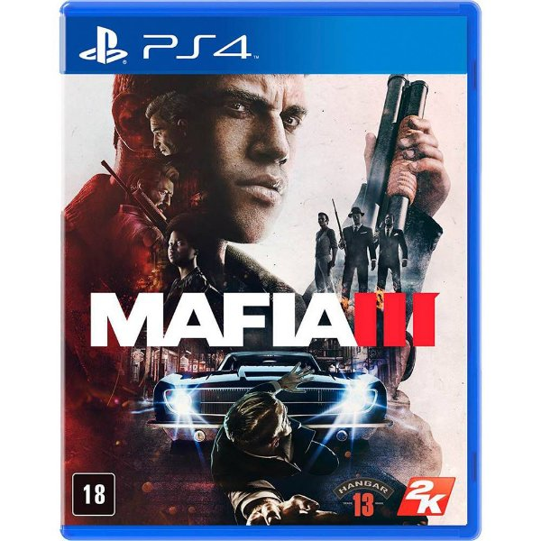 Jogo Ps4 Mafia III Playstation 4