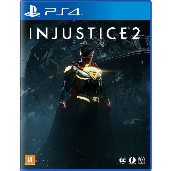 Jogo Ps4 Injustice 2 Playstation 4