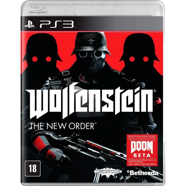 Jogo Ps3 Wolfenstein The New Order