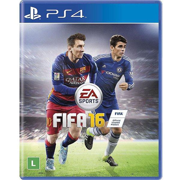 Jogo Ps4 FIFA 16 Playstation 4