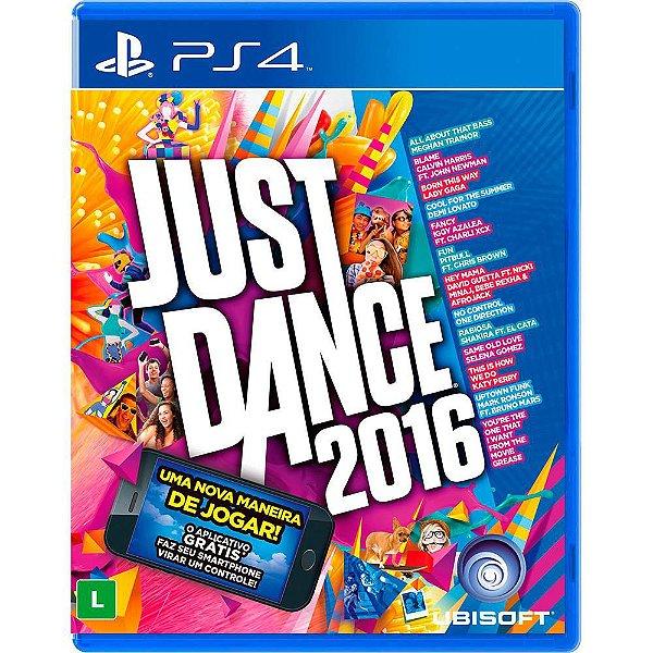 Jogo Ps4 Just Dance 2016 Playstation 4