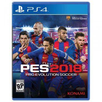 Jogo PES 2018 Playstation 4