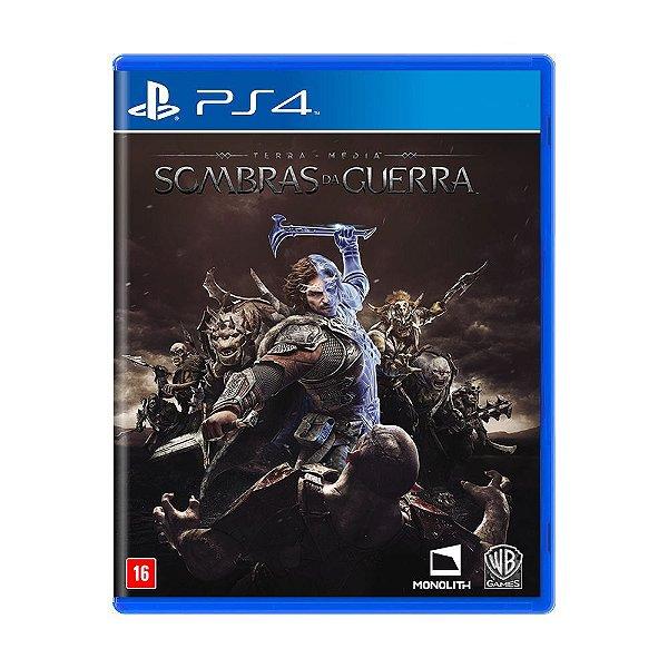 Jogo Ps4 Sombras da Guerra Playstation 4
