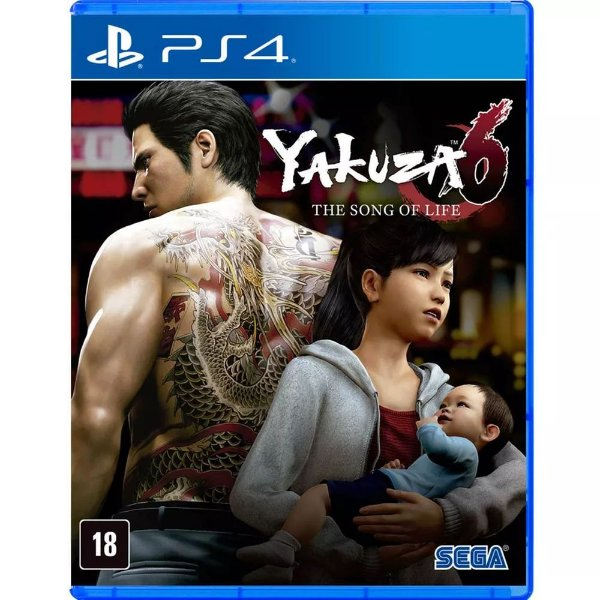 Jogo Ps4 Yakuza 6: The Song of Life