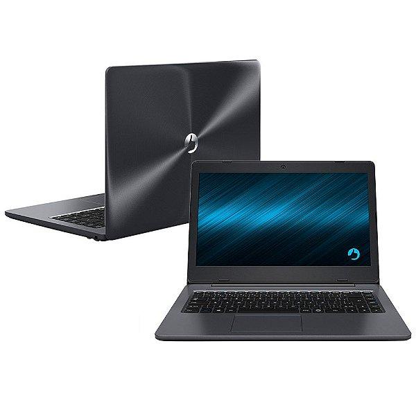 "Notebook Positivo Stilo XCI7660 Intel Core i3 4GB 1TB Tela LED 14"" Linux Cinza"