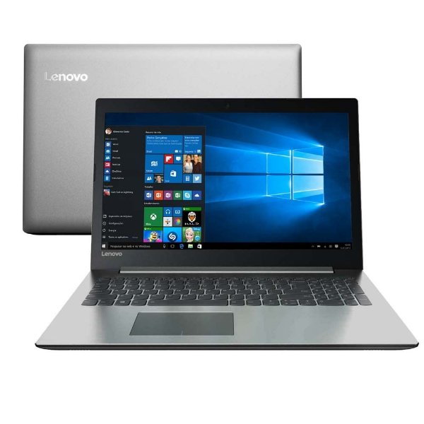 "Notebook Lenovo Ideapad 330 Intel Core i5 8GB 1TB Tela HD 15.6""  Windows 10"