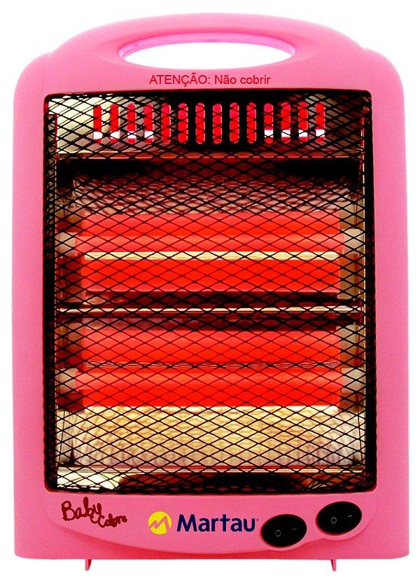 Aquecedor Quartz Baby Colorido 127v  Martau
