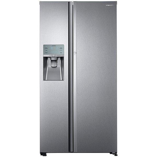 Refrigerador Samsung Frost free 575L Food ShowCase Dispenser de Água RH58K