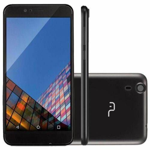 Smartphone Multilaser Ms50 Preto Tela 5,0 Quadcore 16gb Android Lollipop 5