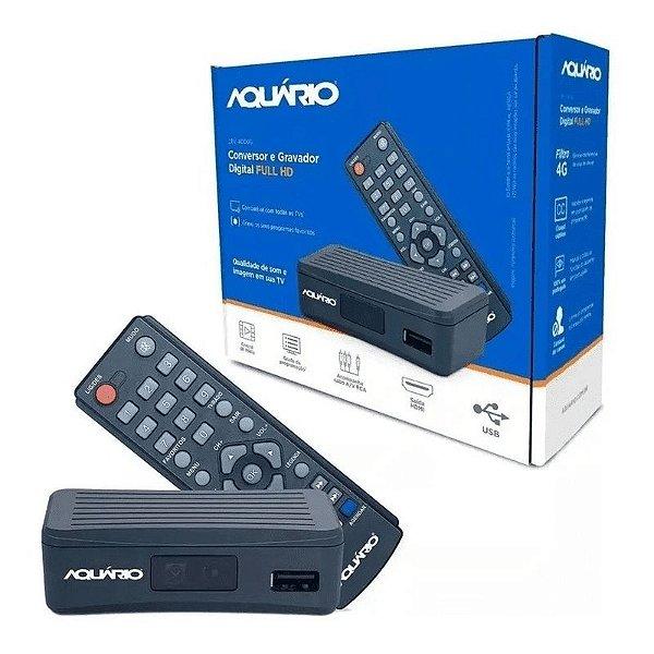 Aquário Conversor e Gravador Digital Dtv-4000s