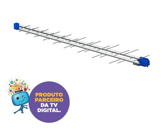 Antena Digital Externa PRO ELETRIC PQ451300 38 Elementos - PRO ELETRIC
