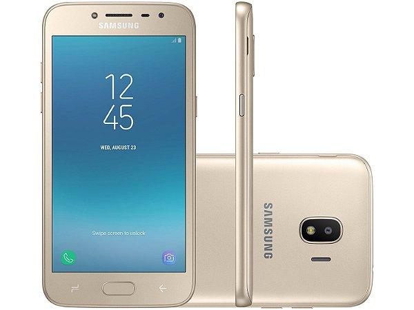 b2f60bccc5 Smartphone Samsung Galaxy J2 Pro 16GB Dourado - Dual Chip 4G Câm. 8MP +  Selfie