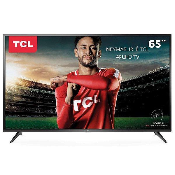 """Smart TV TCL LED 65"""" UHD 4K 65P65US - TCL"""