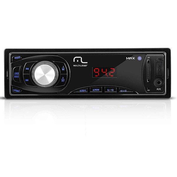 Rádio Automotivo Com Leitor Usb-sd - Max - P3208
